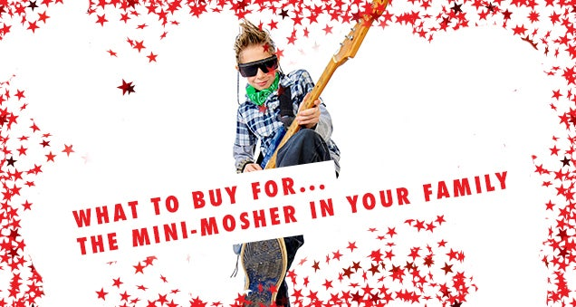 LN Christmas Gift Guides: What To Buy... The Mini-Mosher In The Family