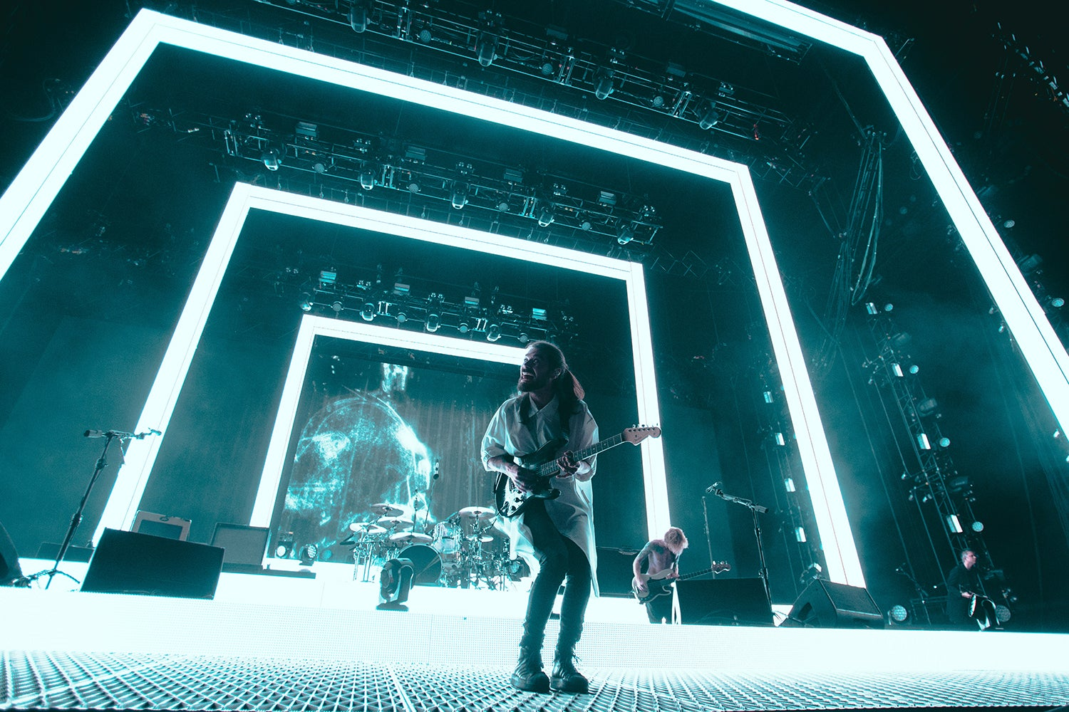 Here's What Biffy Clyro's Stunning Return To Manchester Looked Like