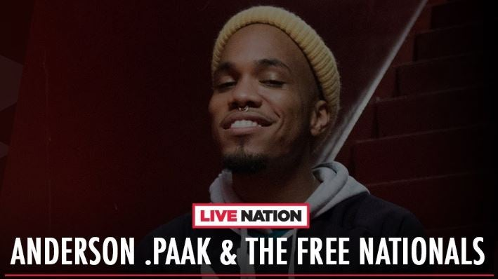 Anderson .Paak & The Free Nationals na żywo z Hollywood Palladium