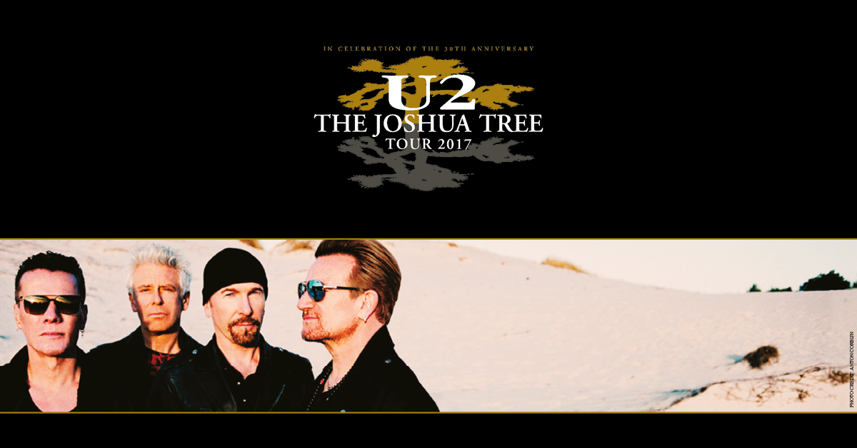 U2 Reveal Epic World Tour To Celebrate 30 Years Of 'The Joshua Tree'