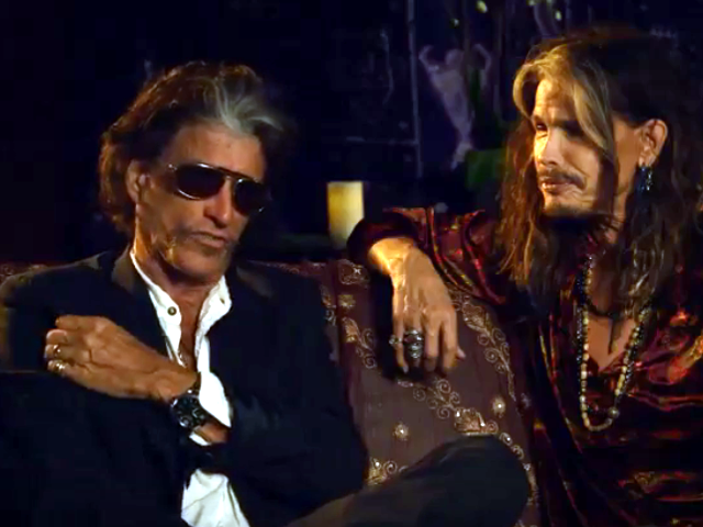 Interview with Joe Perry and Steven Tyler