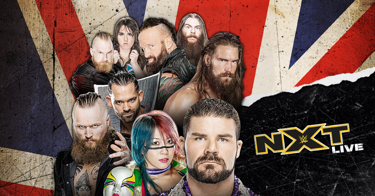 WWE Presents NXT Live! Is Coming Back To The UK This Summer