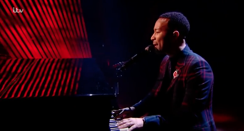 Watch John Legend Own The Stage At The Voice UK's Final