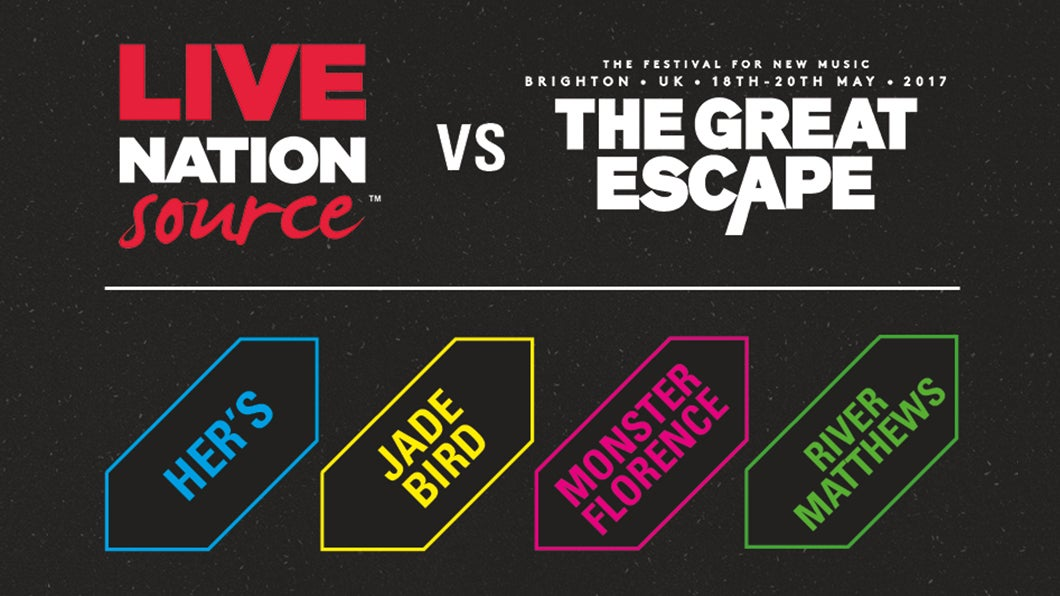 LNSource and TicketWeb To Host Stage At The Great Escape 2017