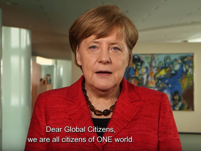 Angela Merkel über das Global Citizen Festival Hamburg