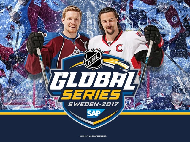 2017 SAP NHL GLOBAL SERIES till Sverige!