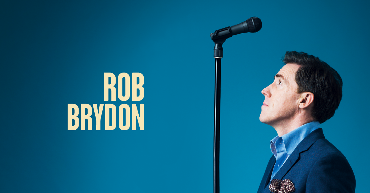 Rob Brydon Announces Full Run Of His I Am Standing Up Tour!