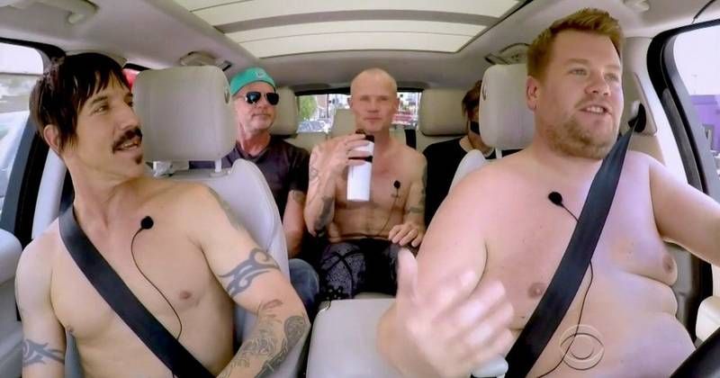 RED HOT CHILI PEPPERS - LAULAEN JA PAINIEN CARPOOL KARAOKEN LÄPI