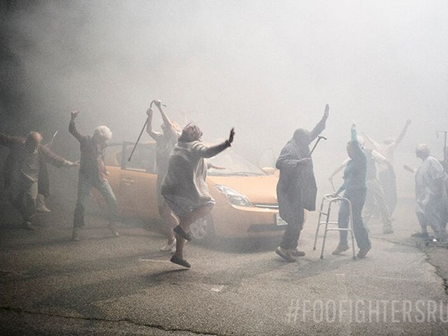 New Fighters video directed by Dave Grohl
