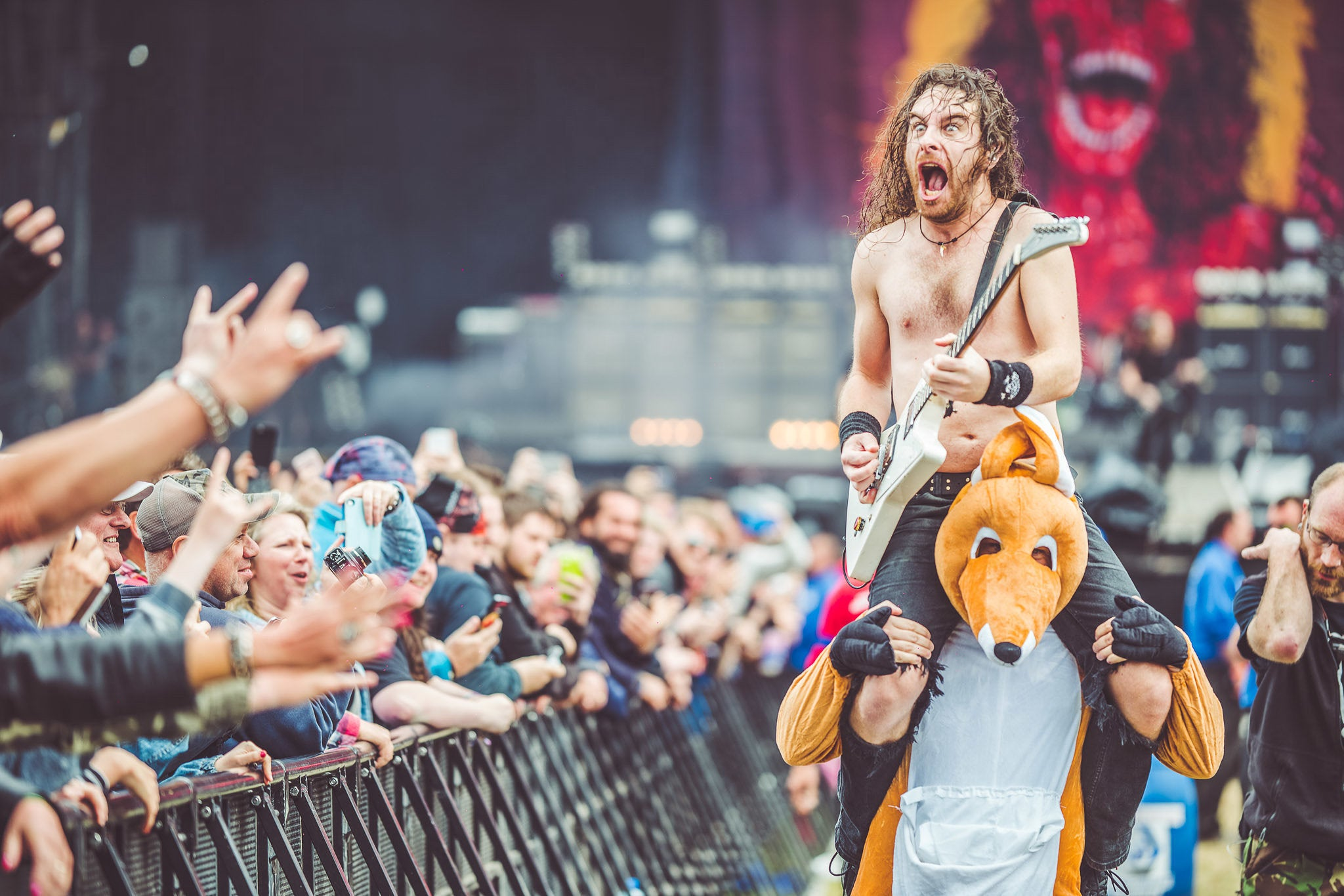 Airbourne Confirm UK Headline Run Following Epic Download Performance