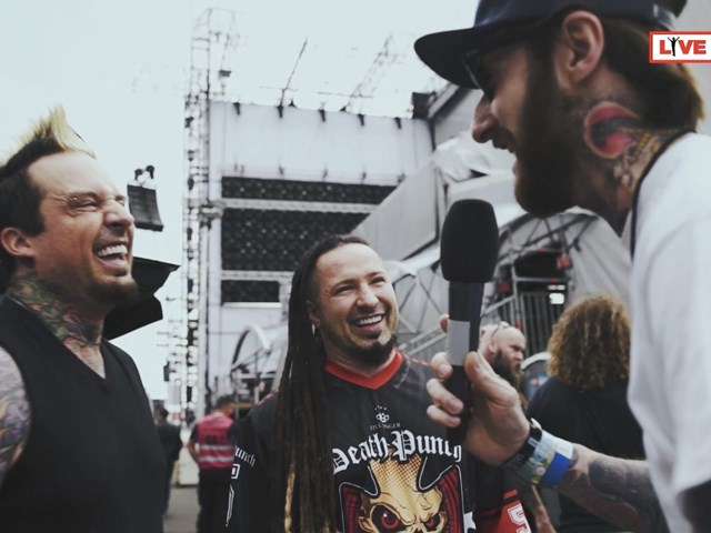 Five Finger Death Punch interview at ROCK AM RING
