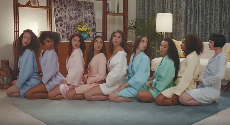 Dua Lipa's Video For 'New Rules' Is One Big Summer Pyjama Party