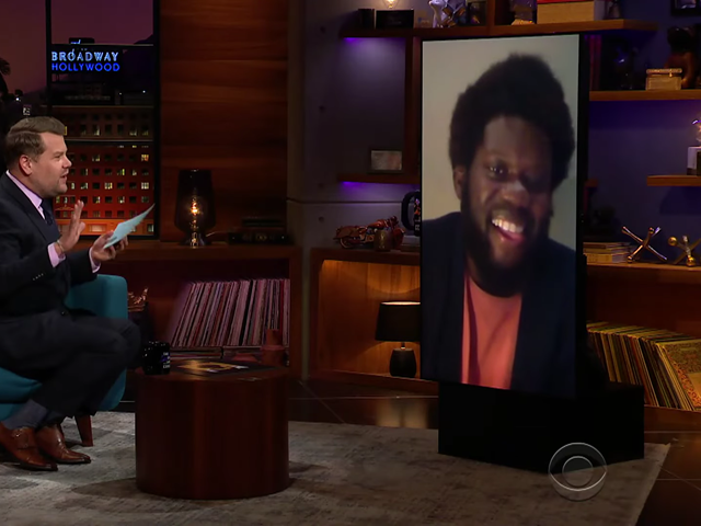 Michael Kiwanuka al The Late Late show with James Corden