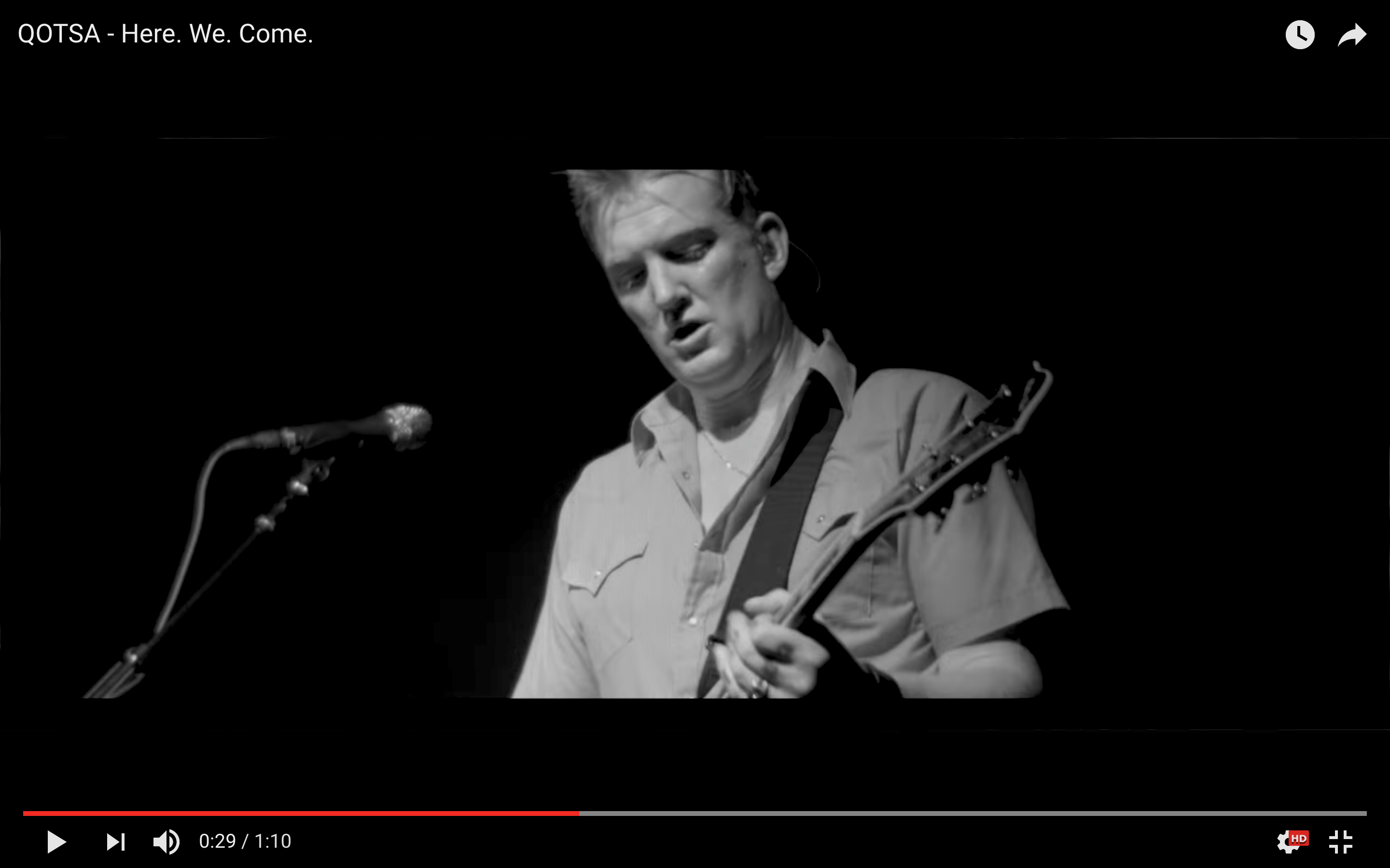 Queens Of The Stone Age Release Video For 'HERE. WE. COME.'