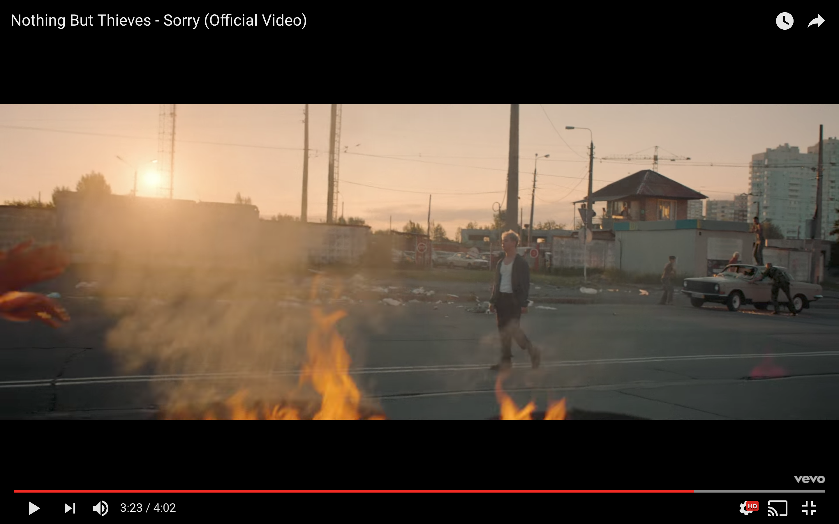 Nothing But Thieves' Video For 'Sorry' Just Landed... And It's Beautiful.