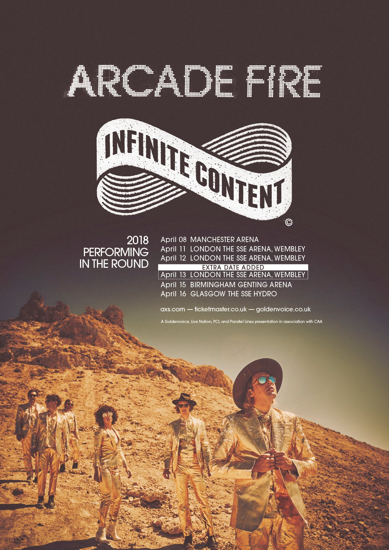 Arcade Fire Add A Third(!) Date At Wembley