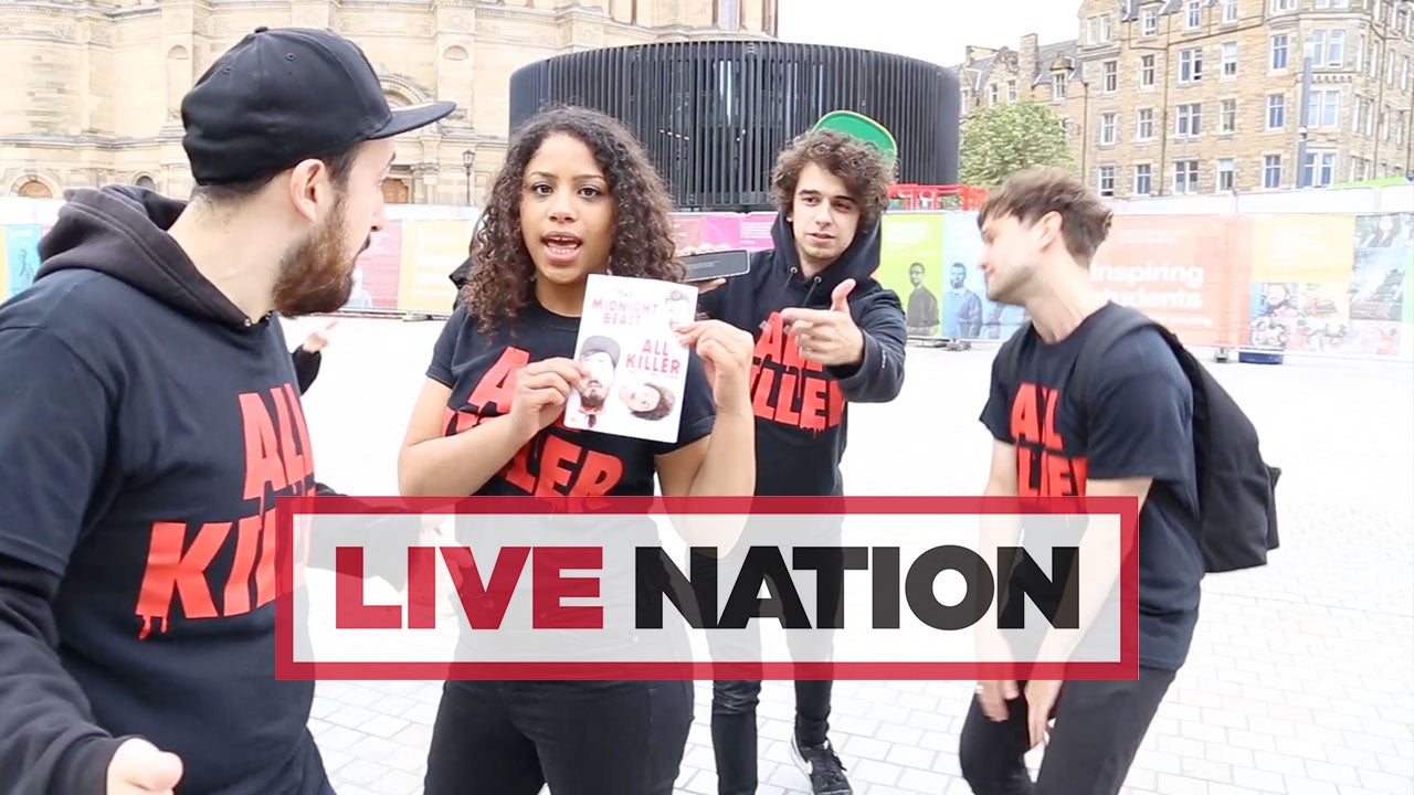 Watch The Midnight Beast Take To The Streets Of Edinburgh To Spread The Word About All Killer