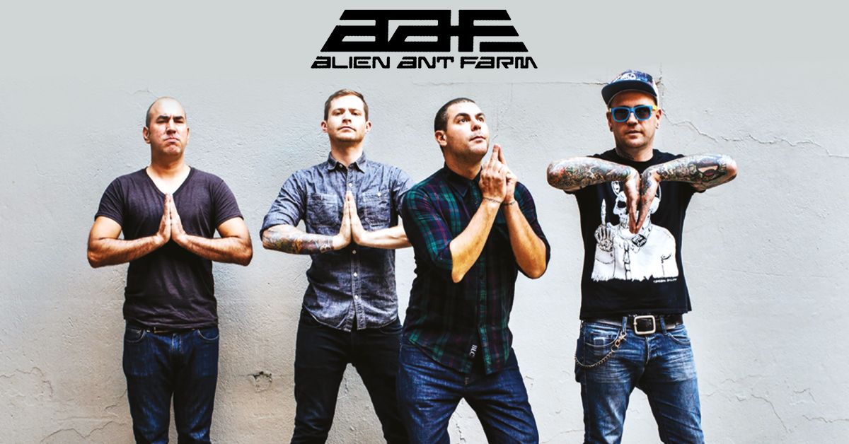 Alien Ant Farm Are Heading Back To The UK In 2018
