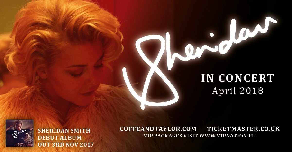 Sheridan Smith Announces Tour In Support Of Her New Album