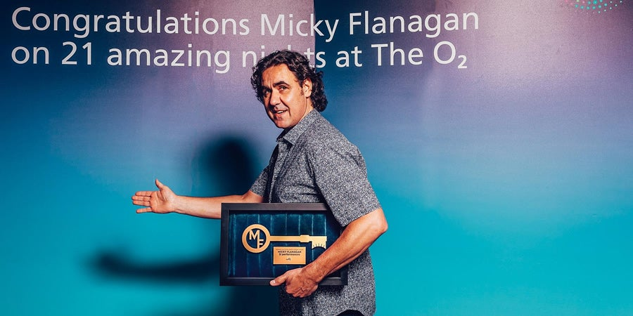 Let's Take A Look Back At Micky Flanagan's Record Breaking 'An Another Fing...' Tour