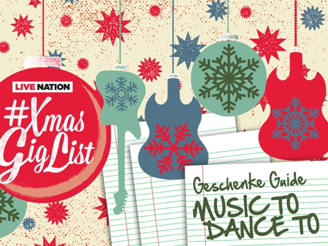 #XmasGigList Geschenke Guide: MUSIC TO DANCE TO