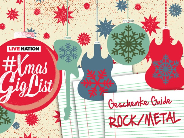 #XmasGigList Gift Guide: ROCK & METAL