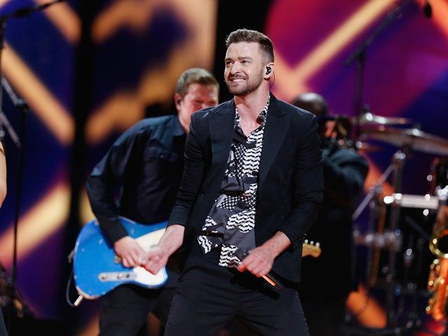 'Can't Stop The Feeling' Justin Timberlake Debuted Live at Eurovision