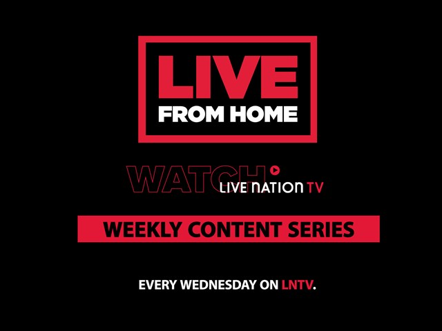 NEW: LNTV LIVE FROM HOME WEEKLY CONTENT SERIES