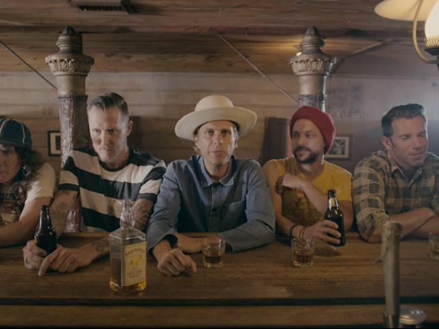 "AWOLNATION: Wild bar brawl in new video to ""Seven Sticks of Dynamite"""