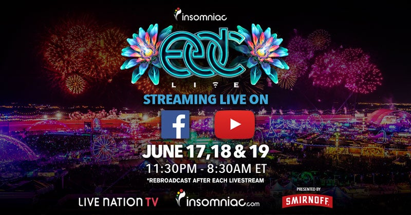 Couldn't Make It To EDC Las Vegas? Catch Up With The Livestream!