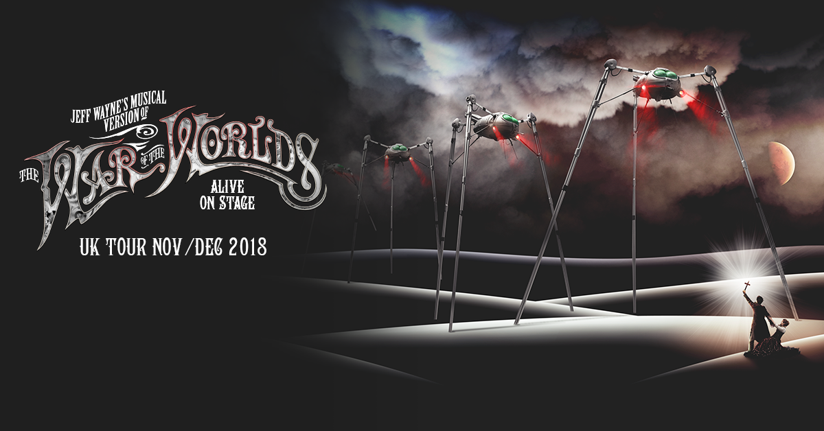The Cast For The War Of The Worlds Arena Tour Has Been Announced! 🎉