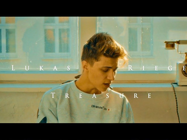 "Lukas Rieger: New Video ""Treasure"""