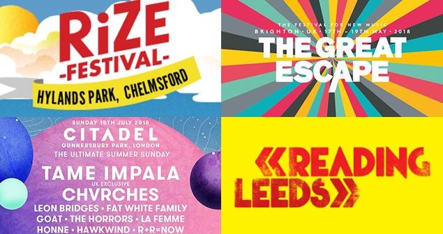 Here's A Round Up Of The Latest UK Festival News!