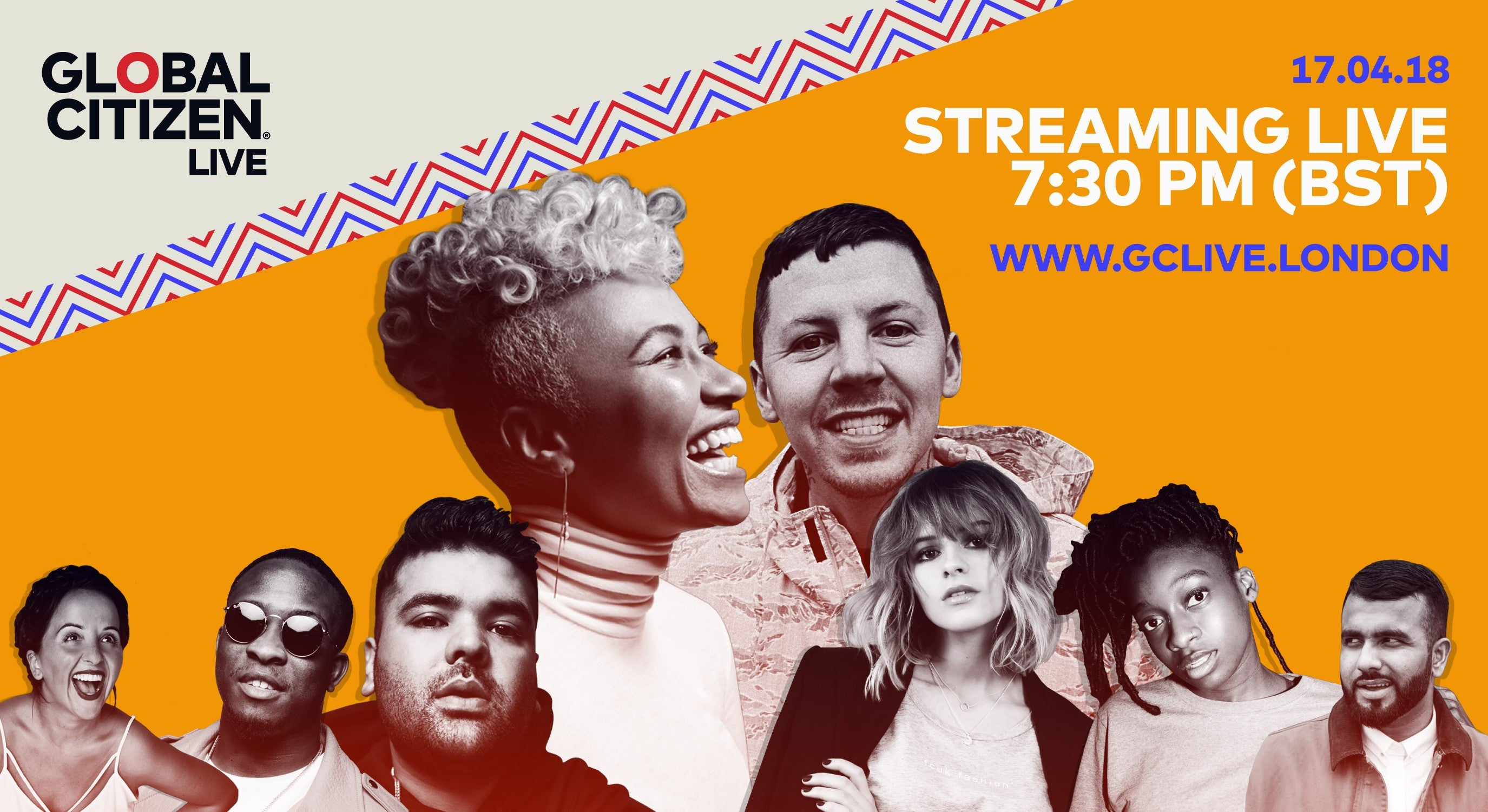 Exklusivt: Se Emeli Sandé, Professor Green, Naughty Boy med flera via livestream från Global Citizen Live i London