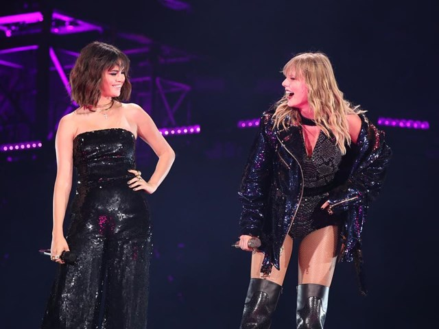 Taylor Swift invited BFF Selena Gomez to sing with her