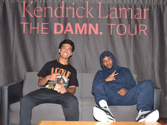 Our favourite Kendrick Lamar meet & greet photos.
