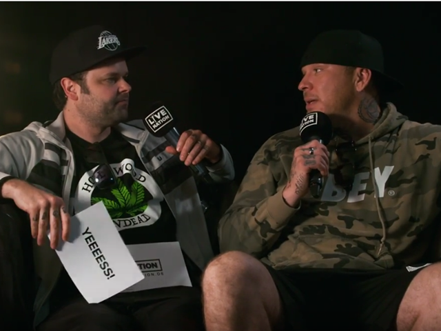 Interview with Hollywood Undead