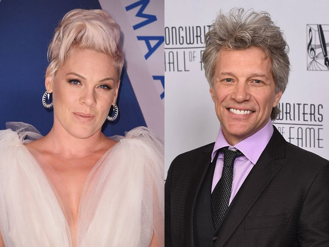 Pink was convinced she'd marry Jon Bon Jovi