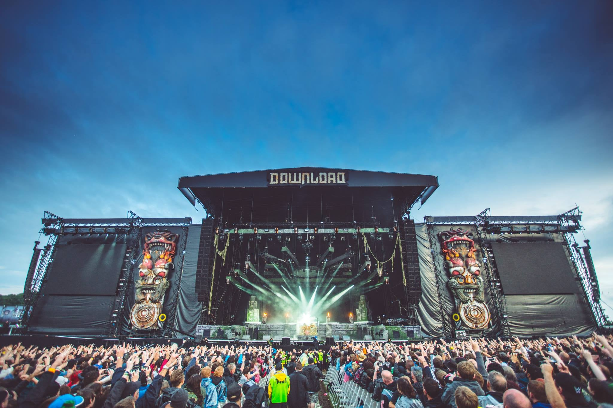 Here's What Went Down Backstage At This Year's Download Festival