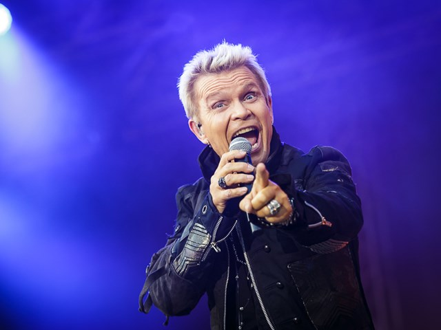 Billy Idol: Der Rockrebell live in Hamburg