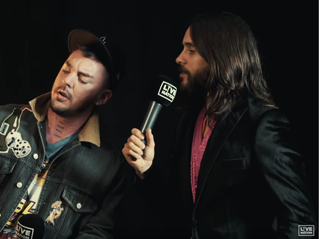 Interview Bingo with Thirty Seconds To Mars