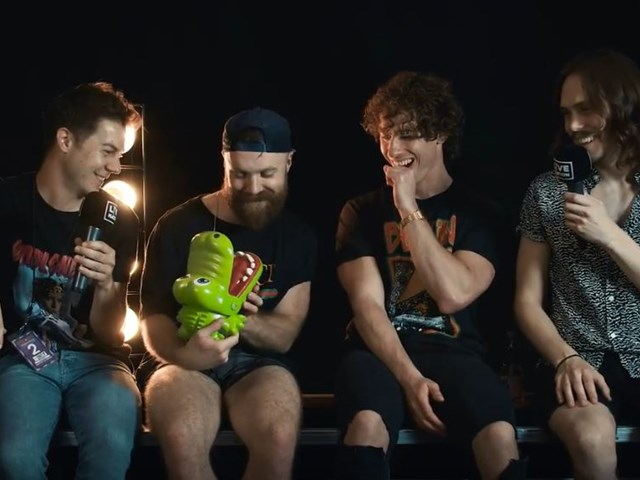 Don Broco im Interview bei Rock am Ring 2018