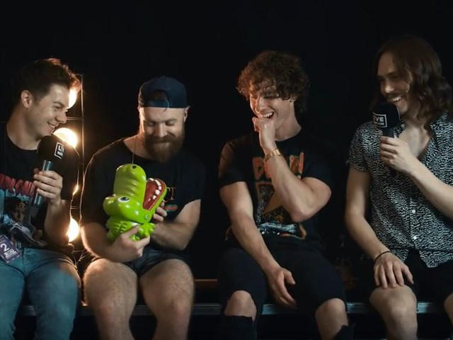 Don Broco Interview at Rock am Ring 2018