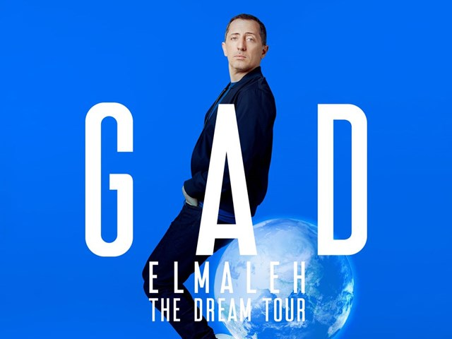"MOROCCAN-FRENCH COMEDIAN GAD ELMALEH ANNOUNCES ""THE DREAM TOUR"" IN HONG KONG"