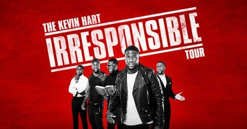 THE KEVIN HART IRRESPONSIBLE TOUR SINGAPORE 2018