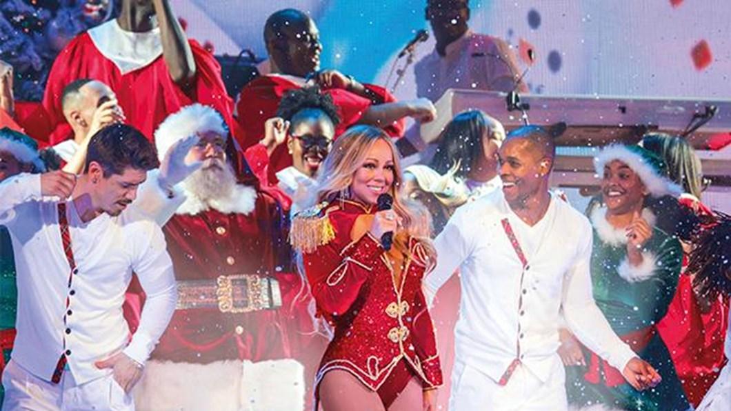 Mariah Carey rules the festive season
