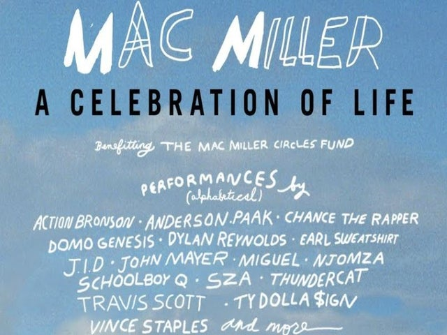 Mac Miller Benefit Concert Livestreamed Tonight