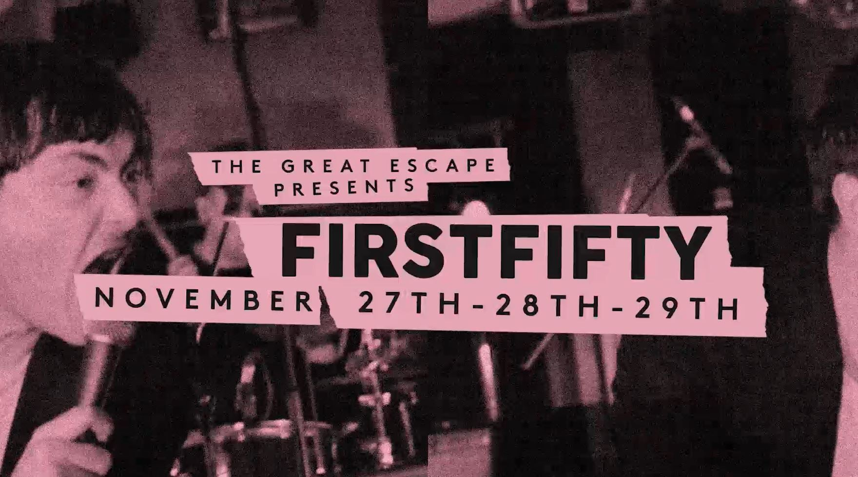 The Great Escape #FIRSTFIFTY Is Back THIS MONTH! Here's Everything You Need To Know...