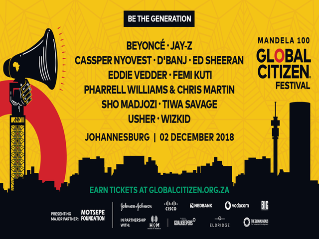 Global Citizen Festival: Mandela 100
