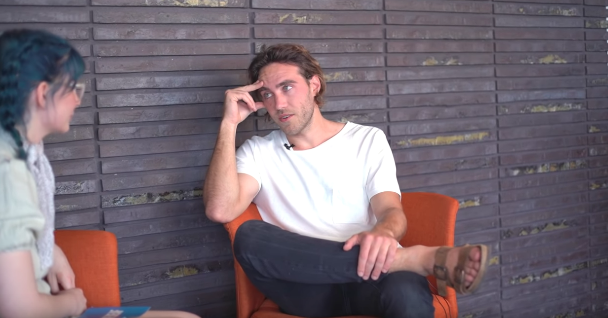 WATCH: Matt Corby talks albums, babies, and Wayne's World!